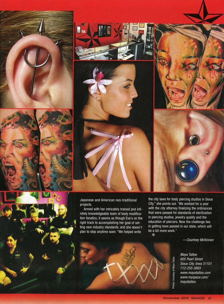 savage magazine nov 2010 page 4