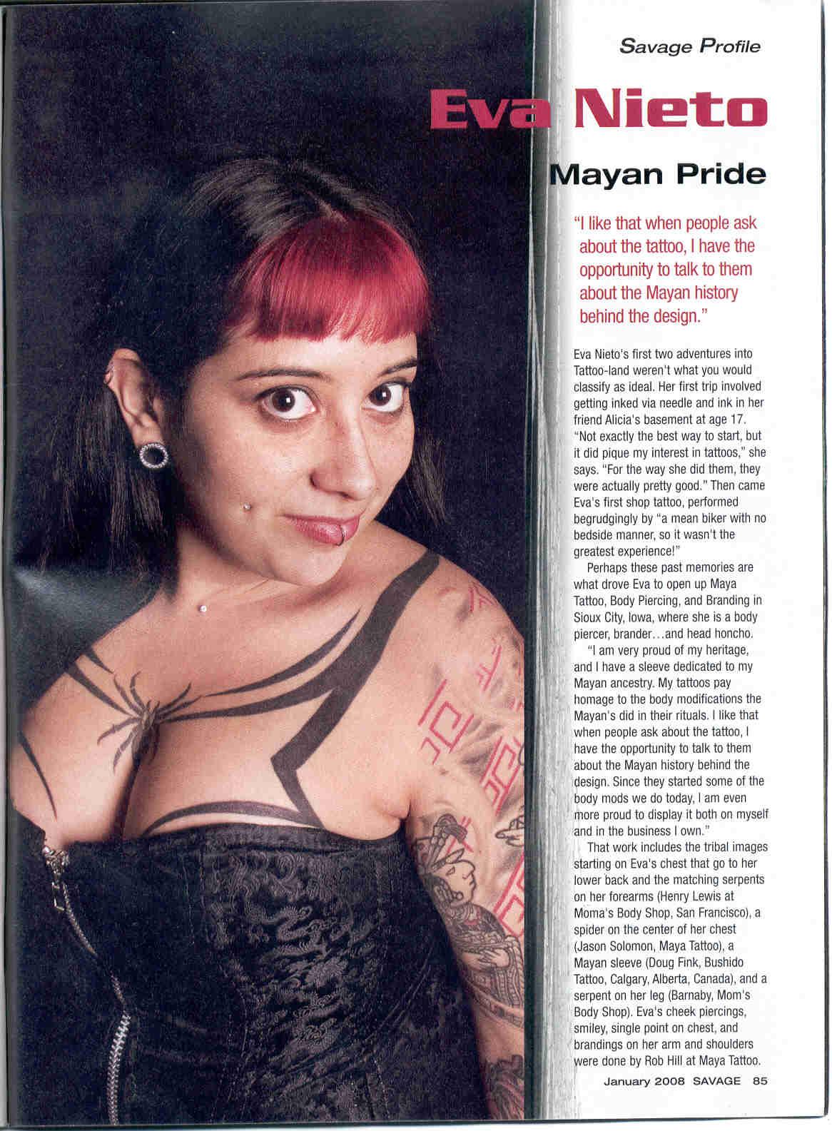 SAVAGE MAG JANUARY 2008 page 1