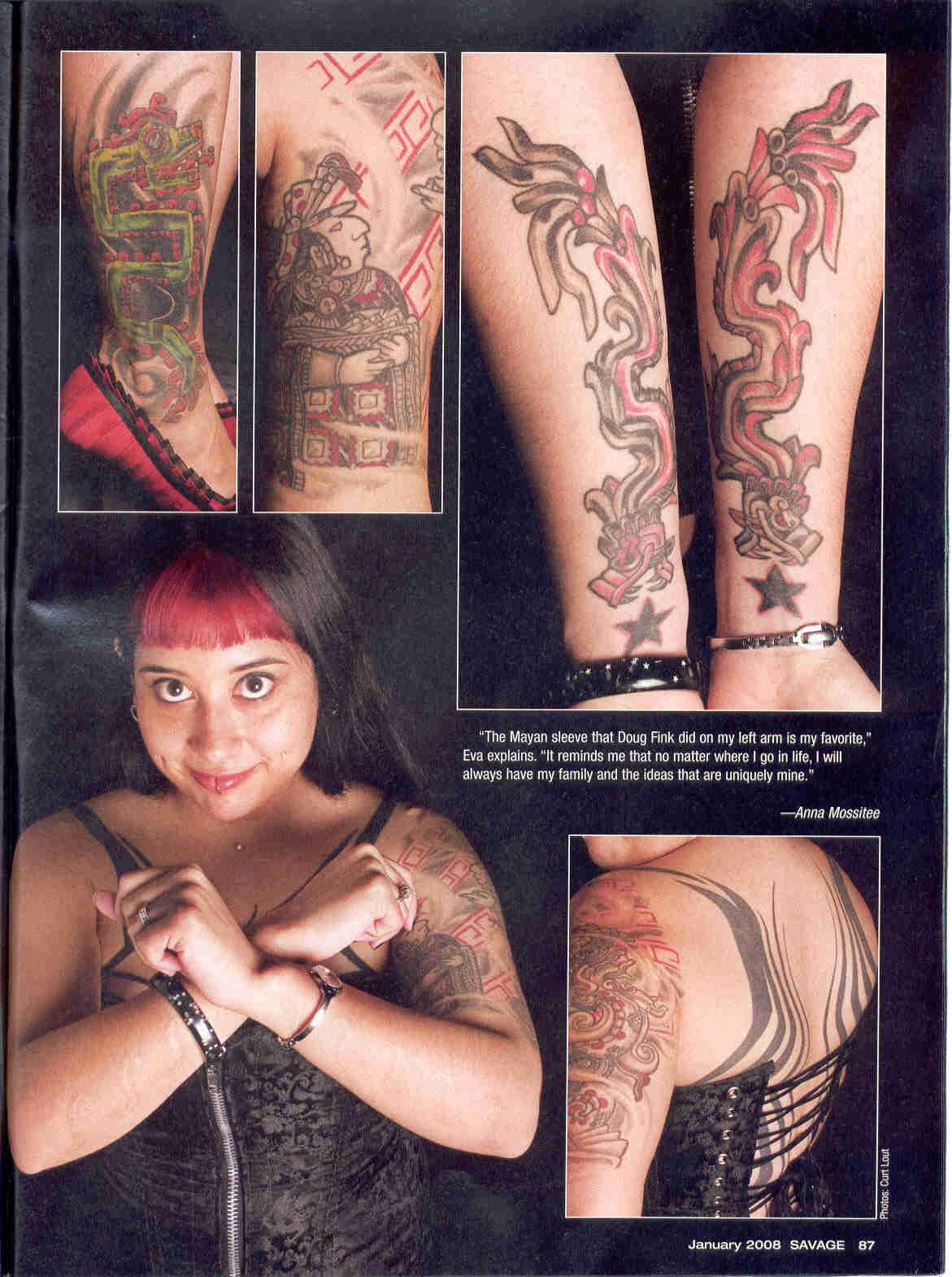 SAVAGE MAG JANUARY 2008 page 3