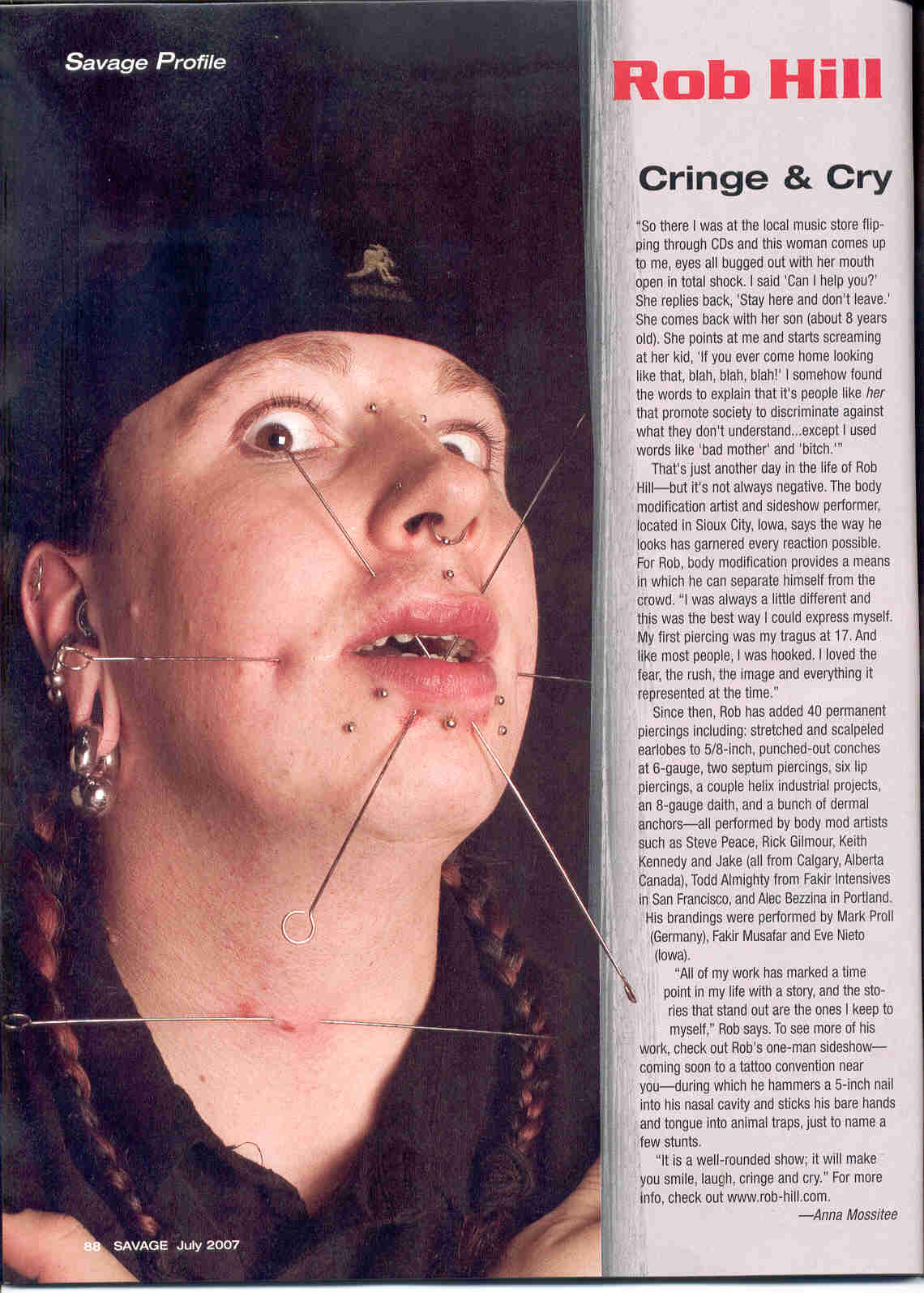 savage mag july 07 page 1