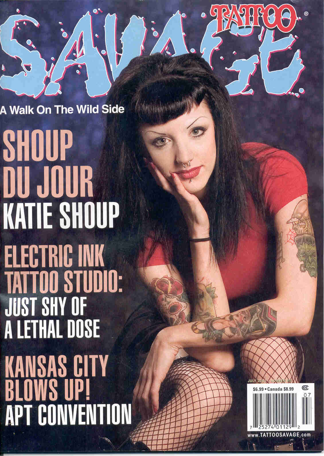 savage mag july 07 cover