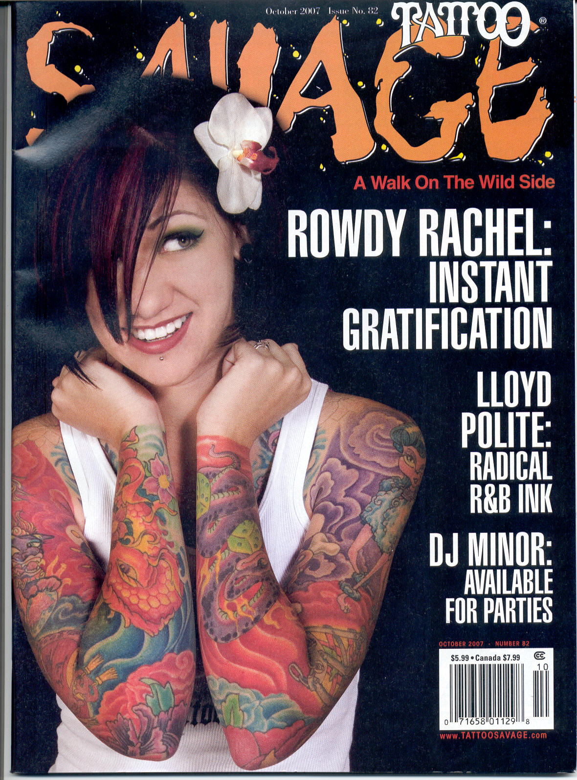 savage magazine october 07 cover