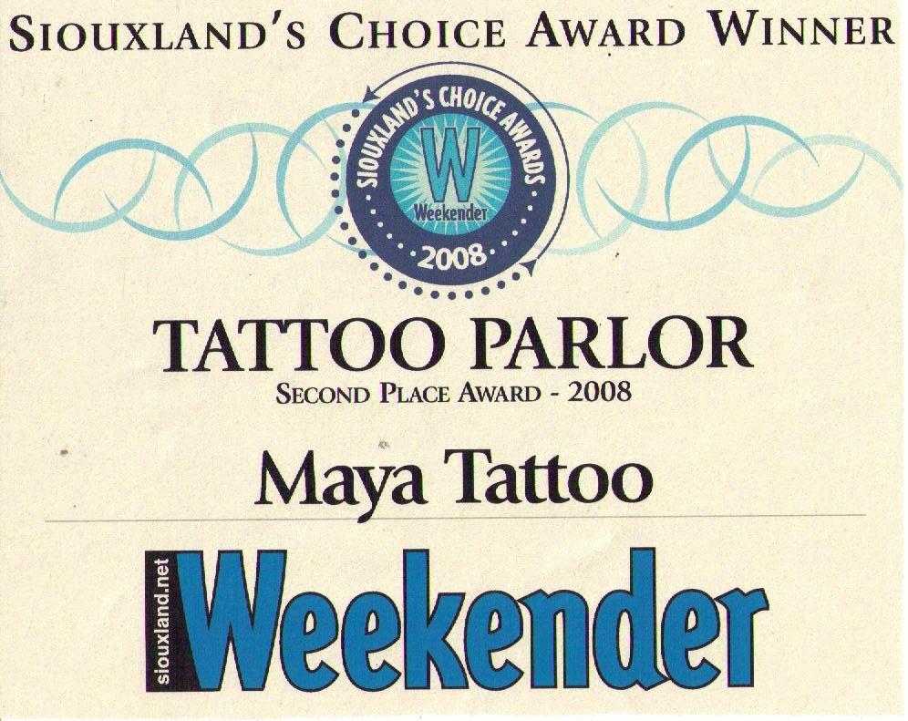 weekender award 2008