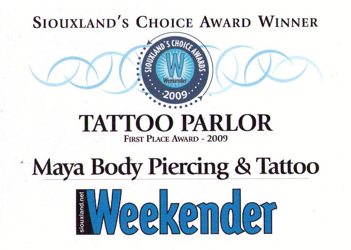 weekender award 2009